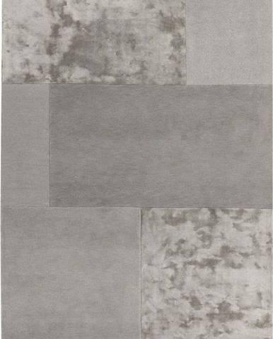 Šedý koberec Asiatic Carpets Tate Tonal Textures, 120 x 170 cm