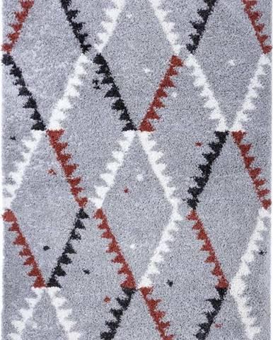 Šedý koberec Mint Rugs Lark, 120 x 170 cm