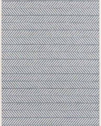 Modrý venkovní koberec Bougari Caribbean, 70x200cm