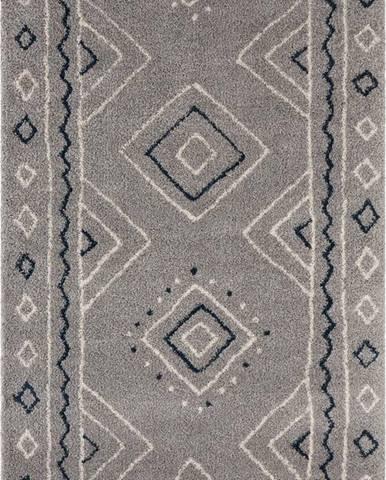 Šedý koberec Mint Rugs Disa, 80 x 150 cm