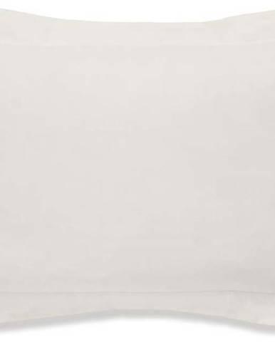 Béžový povlak na polštář z organické bavlny Bianca Organic, 50 x 75 cm