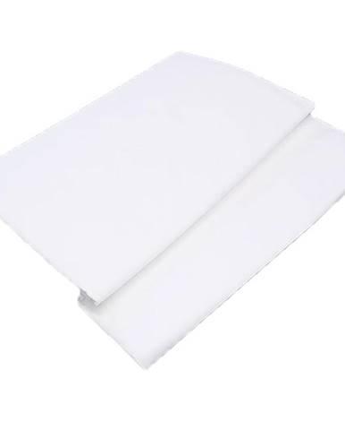 Prostěradlo bavlna 140x230 bílá