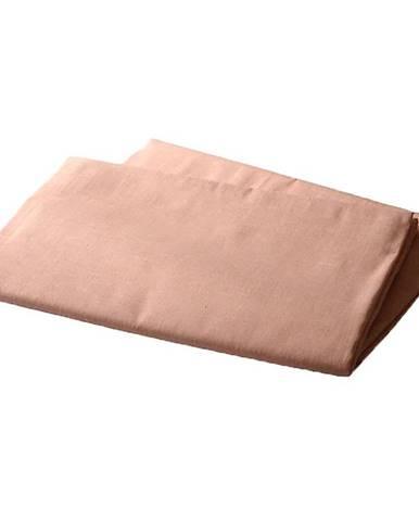 Prostěradlo bavlna 140x230 losos