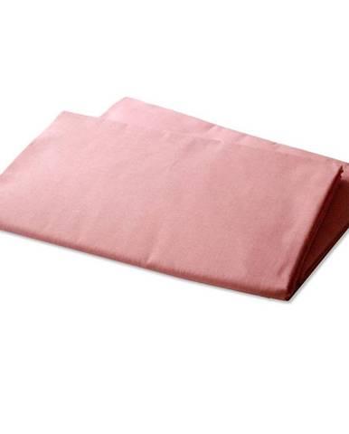 Prostěradlo bavlna 140x230 růžová