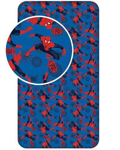 Prostěradlo bavlna 90x200 Spiderman 2017