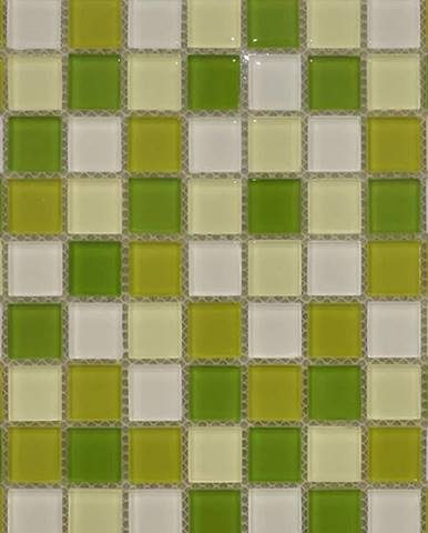 Mozaika Colours green Dlt02 30/30