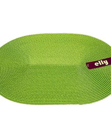 Prostírání Elly oválné 30x45 tmavě zelená