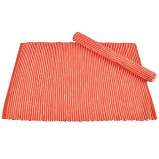 Prostírání 2 ks 33x45 oranžová