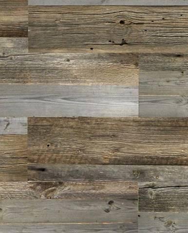 Dřevěný nástěnný panel Natural Wood Grey bal=0,5m2
