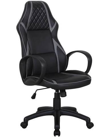 Otáčecí Židle Cx1093h Černá/Sedá