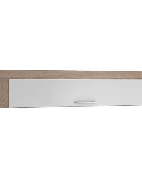 BAUMAX Policová skříňka One 155 cm Bílý/Dub Sonoma