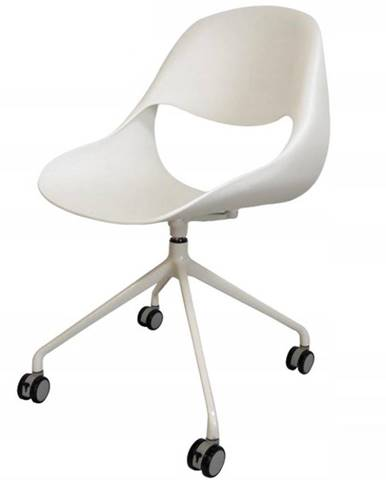 Otáčecí Židle Denver Bílý