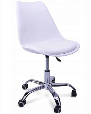 Otáčecí Židle Milano Bílý