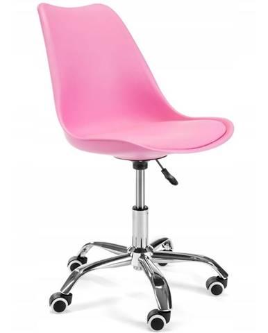 Otáčecí Židle Milano Růžový