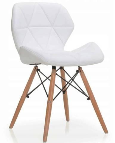 Židle Malta Bílý Eko