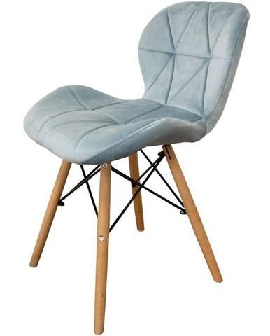 Židle Malta Modrý