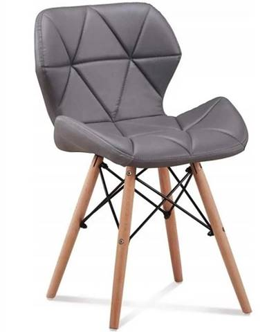 Židle Malta Šedá Eko