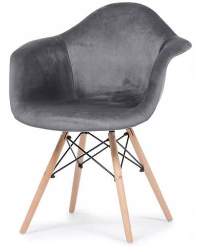 Židle Moskwa Šedá
