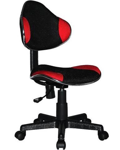 Židle Cx 4113r Červeno/Černá