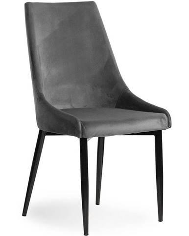 Židle Luis Velvet Šedá