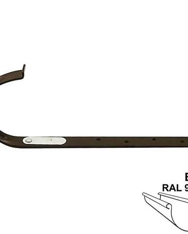 Kovový hák rovný rg 100 bílá