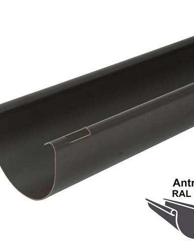 Okapový žlab rg 100 2 m  antracit