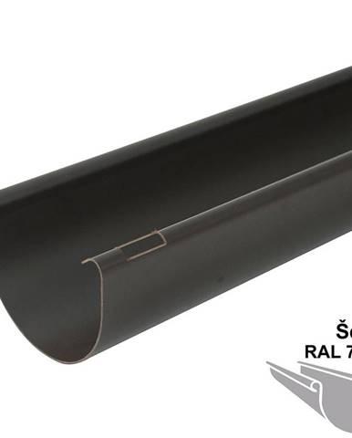 Okapový žlab rg 100 2 m  šedá