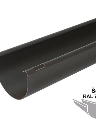 Okapový žlab rg 125 1 m  šedá