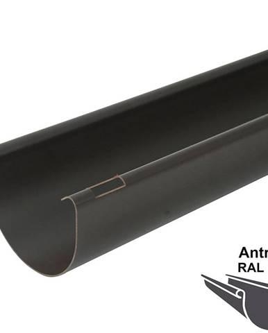 Okapový žlab rg 125 2 m  antracit