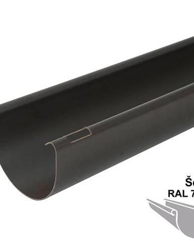 Okapový žlab rg 125 2 m  šedá