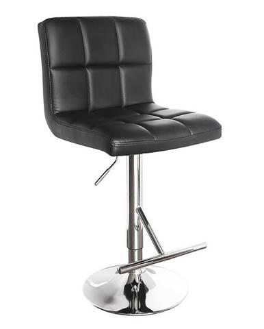 Barová židle Bruno černá 7142