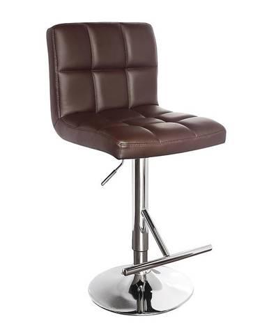 Barová židle Bruno hnědá 7142