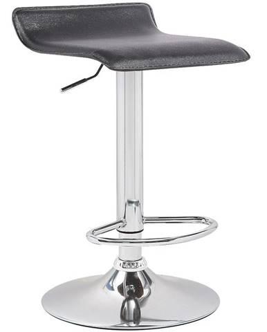 Barová židle Kwadro černá 7316
