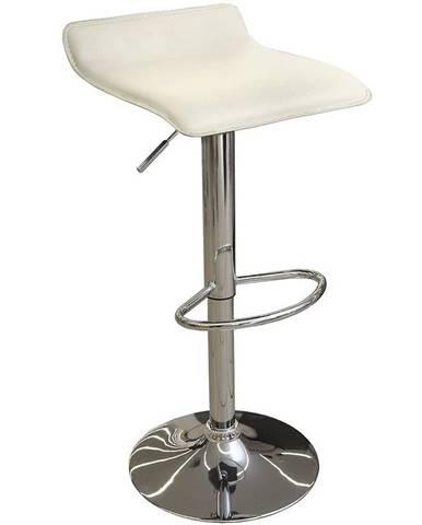Barová židle Kwadro krémová 7316