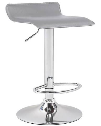 Barová židle Kwadro šedá