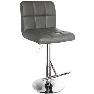 Barová židle Bruno šedá 7142