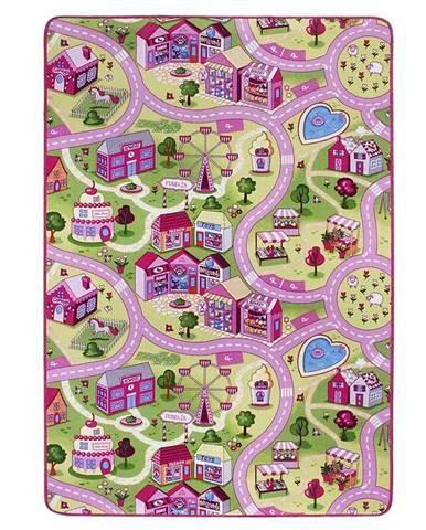 Koberec Kids Funfair 1,0/1,65 pink