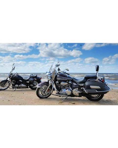 INNA Dekor skleněný - motocykly na pláži 20/50