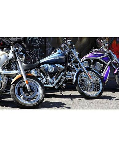 Dekor skleněný - motocykly 30/60