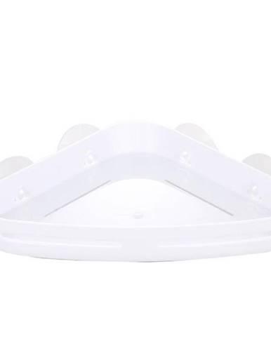 Košík PVC rohový s přísavkami white Yapi-kn-wht