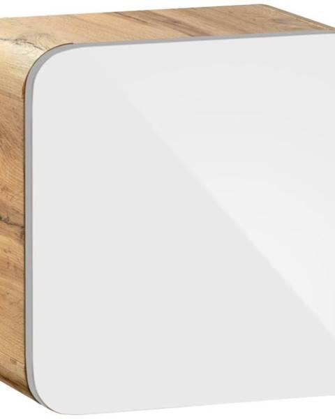 BAUMAX Závěsná skříňka cube Aruba 1D0S 35