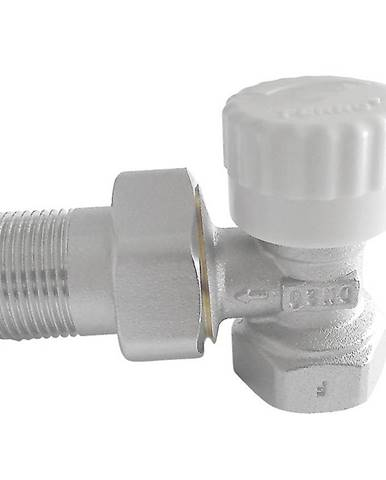 Termostatický ventil průběžný 1/2˝ rohový