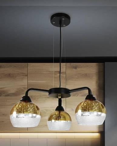 Závěsné svítidlo Cromina Gold 3x60W E27