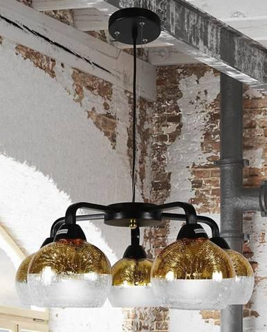 Závěsné svítidlo Cromina Gold 5x60W E27