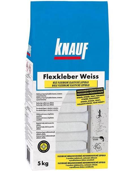 Knauf Flexibilní cementové lepidlo na obklady a dlažbu Knauf Flexkleber C2TE S1 bílé mrazuvzdorné 5 kg