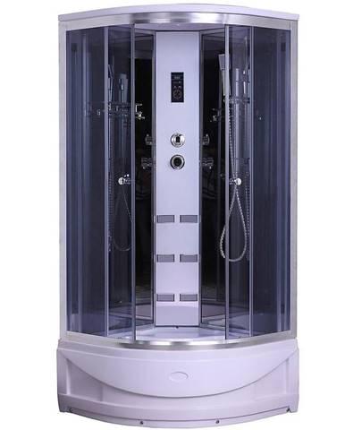 Sprchový box s hydromasáží Venus y8857 mm 90/90 w.b. 4-dílná.