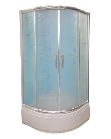 Sprchový kout čtvrtkruhový a1900w 90/170 ring