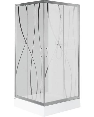 Sprchový kout kw kn/tx5b 90 w15 sb glass protect