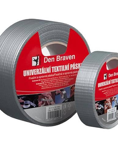 Univerzální textilní páska Den Braven 50 mm x 25 m