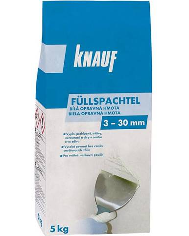 Vysoce kvalitní cementová malta bílé Knauf Füllspachtel 5 kg